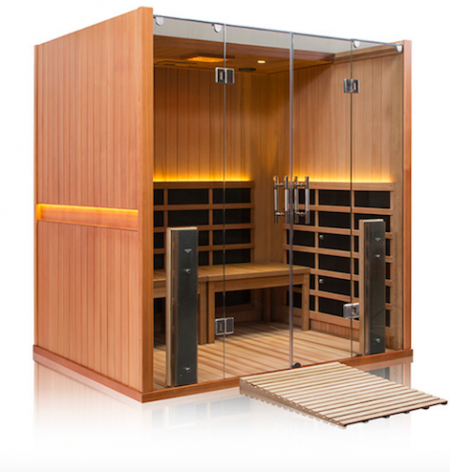 Best High-End Sauna – Jacuzzi Clearlight Sanctuary Retreat