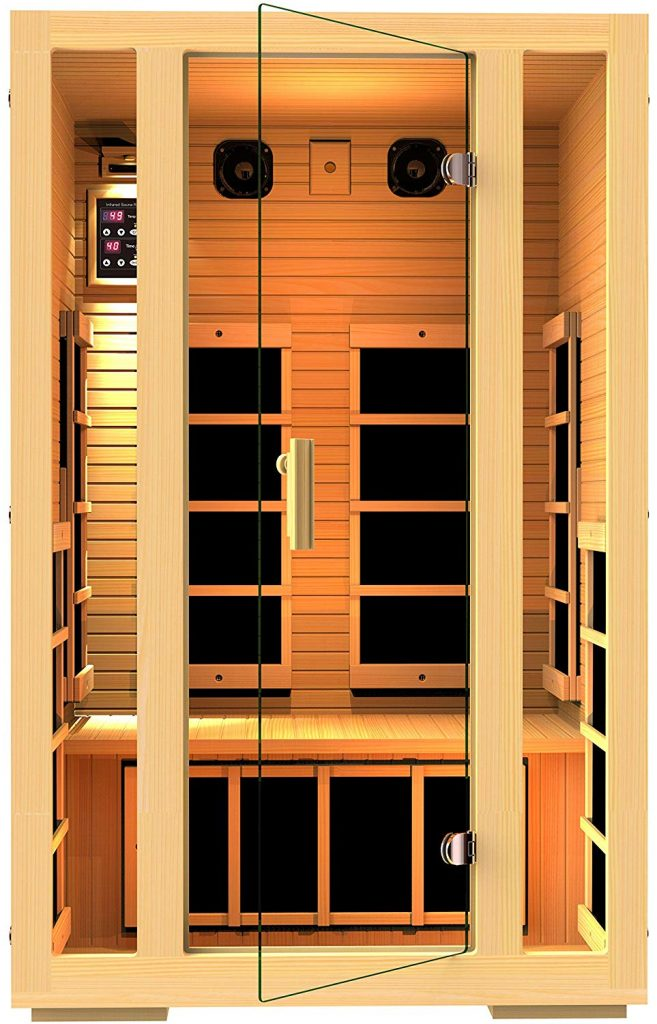 Best Value – JNH Lifestyles Joyous 2-Person Far Infrared Sauna